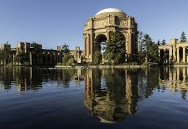 Palace of Fine Arts in San Francisco CA